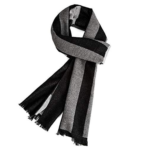 Warm Herbst und Winter Schal, VICWARM Herren Classic und Elegant Plaid Schals
