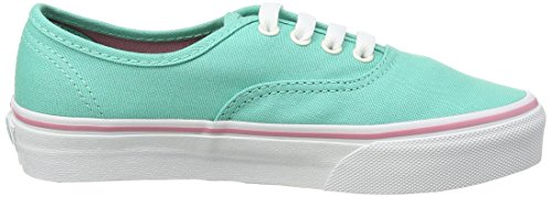 Vans Authentic, Baskets Basses Mixte Enfant Vert (Iridescent Eyelets/Florida Keys)