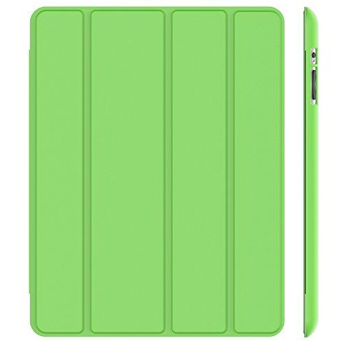 JETech Hülle für Apple iPad 4 iPad 3 iPad 2, Schutzhülle mit Ständer Funktion und Auto Einschlafen/Aufwachen, Grün