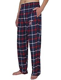NHL Columbus Bleu Jackets Pour des hommesPantalon de pyjama à carreaux Automne / Hiver