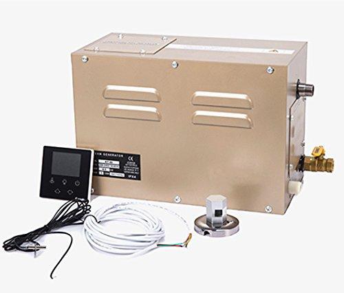 3,5kW Commercial LCD Digital Steam Generator Dusche Sauna Home Spa Dampfbad Generator 25~ 55℃ Timer: 30min bis 12Stunden für geeignet Platz Heizung 3m³ 220V