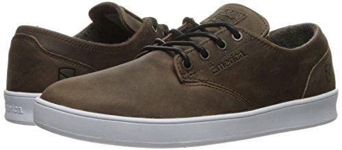 EMERICA Skateboard Shoes ROMERO LACED X ESWIC BROWN/WHITE BROWN/WHITE