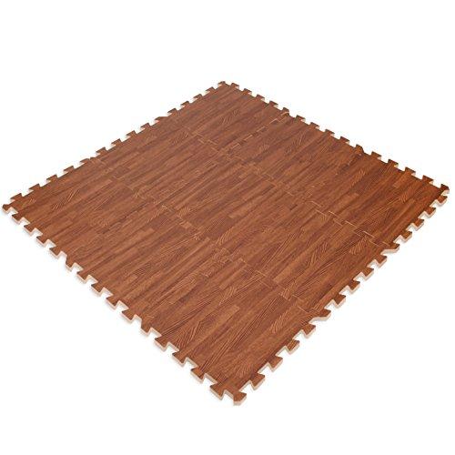 Zoom IMG-1 tappeto effetto legno in schiuma