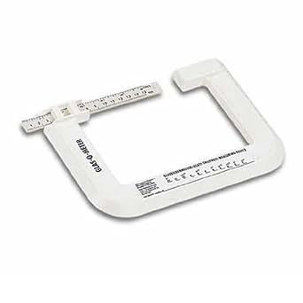 BOHLE Glas-O-Meter - Pied à coulisse pour mesurer l'épaisseur du verre - BO5164800