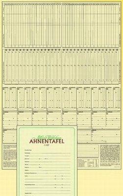 Ahnentafel RNK 2801 A2 1-127 7generationen Tabelle -