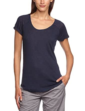 s.Oliver Damen T-Shirt 14.305.32.7884, Gr. 40, Blau (5884)