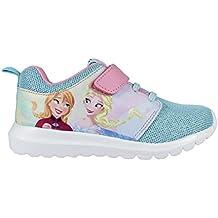 0ea8ca6e4b9d Frozen Disney Zapatillas Deportivas ultraligeras Cierre de Velcro