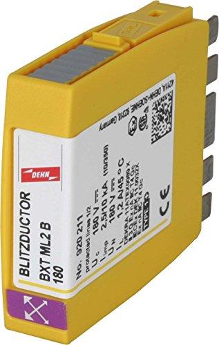 Dehn+Söhne Blitzstromableiter-Modul BXT ML2 B 180 f.Blitzductor XT Kombi-Ableiter für Informations-/MSR-Technik 4013364120570