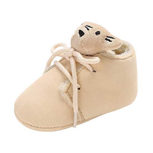 (Sonnena Kleiner Bär Schuhe Kleinkind Niedlich Schneeschuhe Boots Kinderschuhe Baby Mädchen Warm Winterschuhe Schuhe Jungen Lauflernschuhe Weiche Sohle Babyschuhe Krabbelschuhe)
