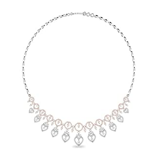 PC Jeweller The Torence 18KT White Gold and Solitaire Necklace for Women