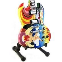 Eric Clapton guitarra en miniatura–Gibson sg- el tonto–réplica de madera 25cms