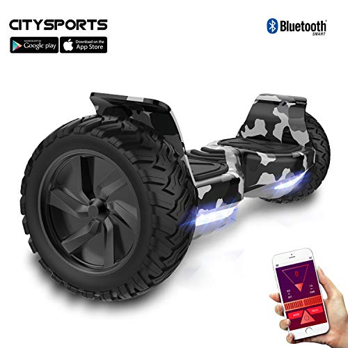 CITYSPORTS SS-01Jr Hoverboard 6.5\'\' LED (Red)