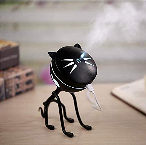 Nachtlicht Neuheit Katze Mini Luftbefeuchter Essenz Öllampe Usb Led Nachtlicht Lampe Haushaltsgeräte -