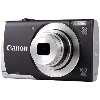 Canon PowerShot A2500 Digitalkamera (16 Megapixel, 5-fach opt. Zoom, 6,9 cm (2,7 Zoll) Display, bildstabilisiert) schwarz