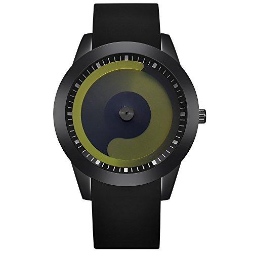 JiaMeng Amistad Pulsera Reloj Deportivo de Cuarzo analógico de Acero  Inoxidable de Lujo para Hombre de 565fcdecf8f8