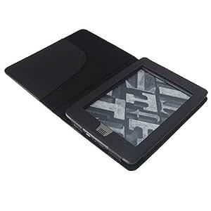 Schutzhülle für Amazon Kindle TOUCH und TOUCH 3G (15 cm/6 Zoll Display) Schutz Tasche Etui Case in Schwarz, Farbe:Schwarz