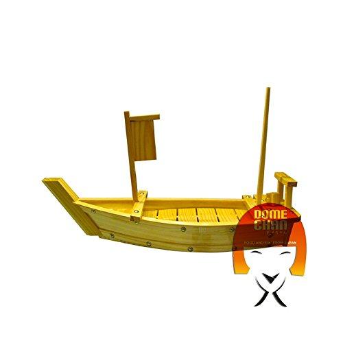 Barca in legno per sushi e sashimi lunga 50 cm