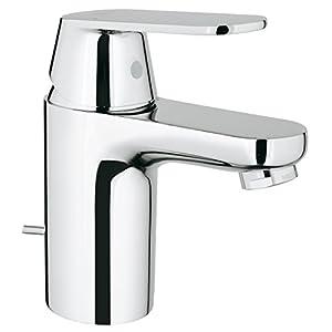 Grohe Eurosmart 2337700E – Grifo de lavabo con vaciador automático, S