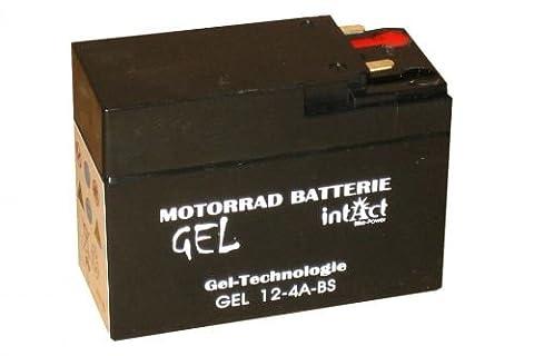 12V 2,5Ah Gel Power Batterie Akku YTR4A-BS (113 x 48 x 85 mm) für Roller