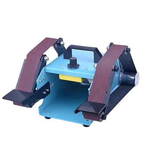 Docooler 950W 110-230V Multifunktionsschleifmaschine Schleifmaschine Sander Desktop Doppelachse Gürtel Schleifmaschine