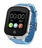 Kinder GPS Smartwatch GPS SOS Tracker mit Kamera Uhr 3.2 Gen - INNOGAD (Blau)