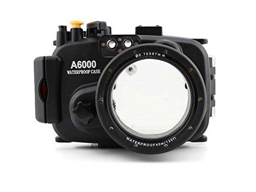 CameraPlus - Unterwasser digitalkamera - Unterwassergehäuse für SONY A6000 bis 40m Wasserdicht leicht bedienbar
