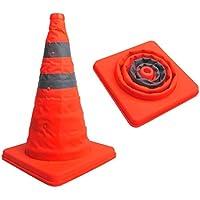 Festnight Conos de Tráfico Plegable Cono de Seguridad Retráctil 41cm de Alto