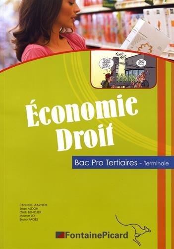 Economie Droit Tle Bac Pro Tertiaires par