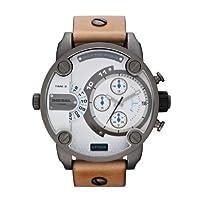 Reloj Diesel DZ7269 de cuarzo para hombre con correa de piel, color marrón de Diesel
