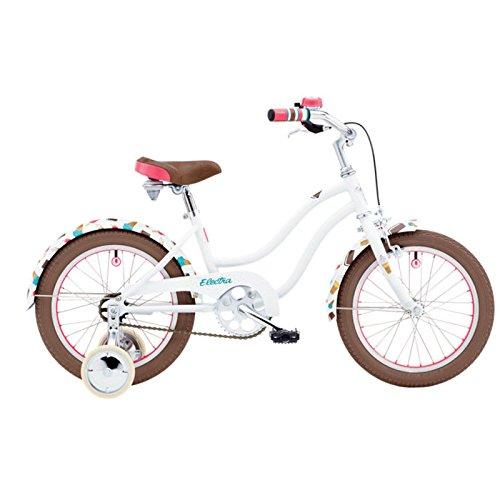 Electra Soft Serve 16 Zoll Kinder Fahrrad Stützrad Mädchen Beach Cruiser Weiss, 528774 -