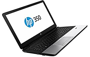 "HP 350 G2 PC Portable 15,6"" (39,62 cm) Argent (Intel Core i3, 4 Go de RAM, 500 Go, 4030U/1,9 GHz, Windows 8.1)"