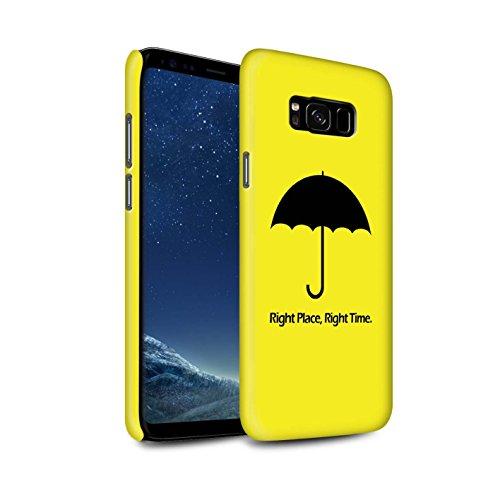 STUFF4 Matte Snap-On Hülle / Case für Samsung Galaxy S8 Plus/G955 / Regenschirm / Zitat Muster / Lustige Komödie Sitcom TV Kollektion (Lustige Zitate Tv)