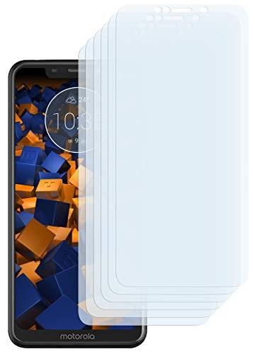 mumbi Schutzfolie kompatibel mit Motorola One Folie klar, Bildschirmschutzfolie (6x)