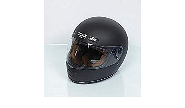 Casco da Moto Vintage Barry Legend Nero Opaco Taglia M TORX