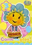 Fifi And The Flowertots Age 3 Badge Birthday Card