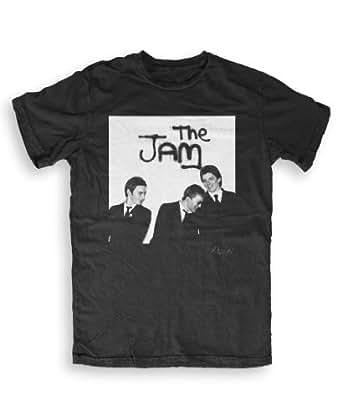 The Jam - Music T-shirts by Martyn Goddard S to XXL Unisex- black - S