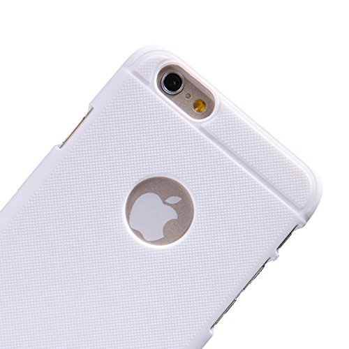 Urcover® iPhone 6 Plus 6S Plus Hülle, Frosted Series Handy Tasche Schutzhülle Back Case Cover Smartphone Zubehör Schale Polycarbonat Handyhülle für Apple iPhone 6 Plus / 6S Plus Farbe: Braun Weiss
