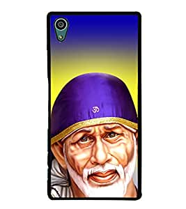 Sai Baba Sai Ram 2D Hard Polycarbonate Designer Back Case Cover for Sony Xperia Z5 :: Sony Xperia Z5 Dual
