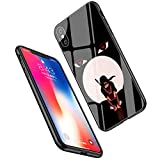 LiangChu 9h Le Verre trempé iphone 7 Plus / 8 et lc-14 Naruto, Anti - zéro Soft Silicone Conception Impression antichocs sur téléphone Cas pour Apple iphone tpur et 7 Plus / 8