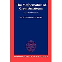 The Mathematics of Great Amateurs (Oxford Science Publications)