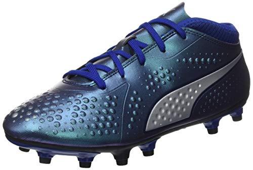Puma Unisex-Kinder ONE 4 SYN FG JR Fußballschuhe, Blau (Sodalite Blue Silver-Peacoat 03), 36 EU