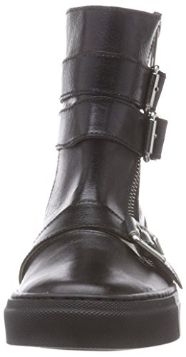 Jonny's Kingsley, Biker imbottiti a gamba corta donna Nero (Nero (Negro))