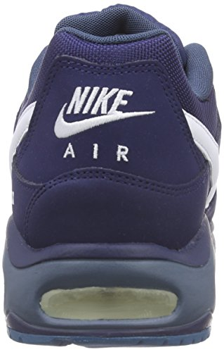 Nike Air Max Command, Baskets Basses Homme Bleu (Midnight Navy/White-Squadron Blue)