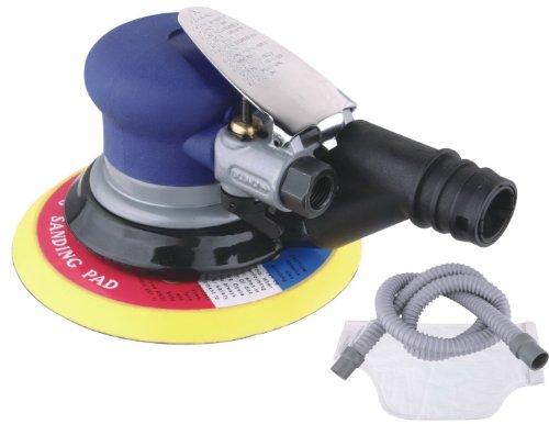 Preisvergleich Produktbild Craft-Equip Druckluft Exzenterschleifer mit 150mm Klett-Schleifteller
