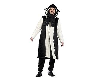 Limit Sport - Disfraz abrigo y bufanda de borreguito para hombre, talla M (MA711)