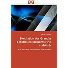Simulation des Grandes Echelles en Elements Finis stabilisés: Une Approche Variationnelle Multi-Echelles (Omn.Univ.Europ.)