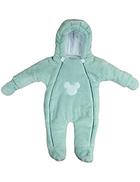 MoMika Baby Strampler. Unisex Baby Overall. Neugeborene & Kleinkinder Strampler mit Kapuze. Baumwolle und Minky...