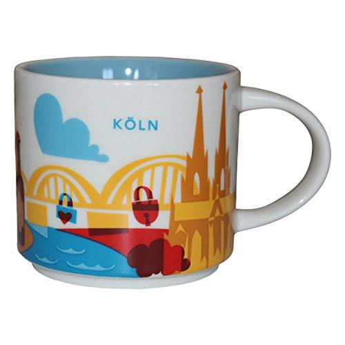 Starbucks City Mug You Are Here Collection Köln Kaffeetasse Coffee Cup -