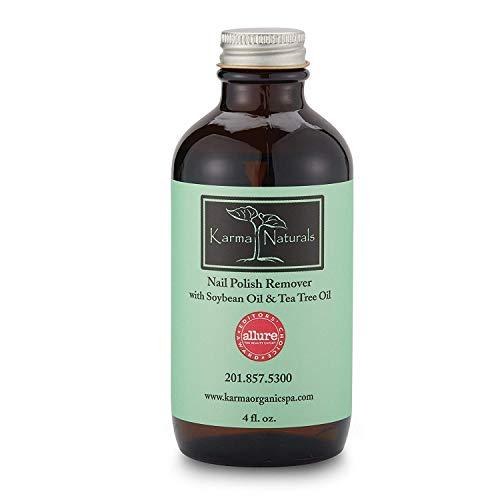 Dissolvant de vernis à ongles à l'huile de soja et à l'huile de théier Karma Naturals, 100 ml