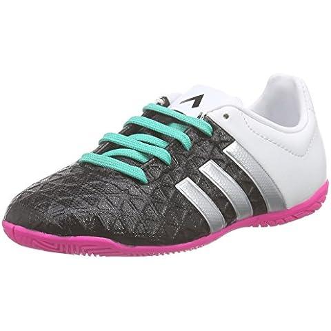 adidas Ace 15.4 In J, Botas de Fútbol para Mujer